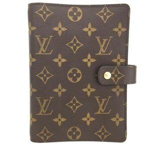 Louis Vuitton Notebook Organizer Agenda Planner+++
